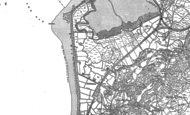 Old Map of Fairbourne, 1900