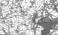 Old Map of Fairfield, 1883 - 1901