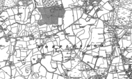 Old Map of Fairlands, 1895