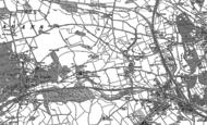 Old Map of Fairwater, 1898 - 1899