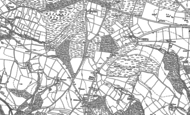 Old Map of Fairy Cross, 1881