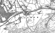 Old Map of Falmer, 1897 - 1909