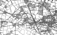 Old Map of Fareham, 1895