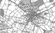 Old Map of Faringdon, 1910