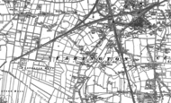 Old Map of Farington, 1892 - 1893