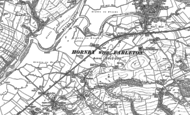 Old Map of Farleton, 1910