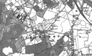 Old Map of Farnborough, 1895