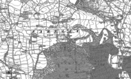 Old Map of Farnley, 1888 - 1907