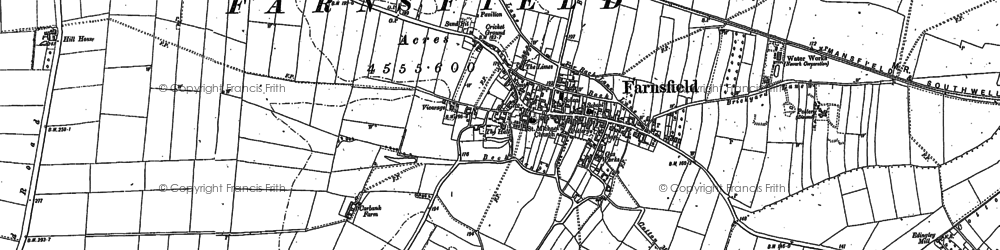 Old map of White Post in 1883