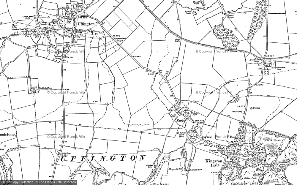Old Map of Fawler, 1898 in 1898