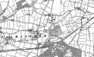 Old Map of Felmingham, 1884 - 1885
