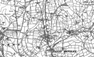 Old Map of Fenny Bentley, 1879 - 1880