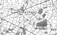 Old Map of Fenny Drayton, 1887 - 1901