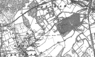 Old Map of Fetcham, 1894 - 1895