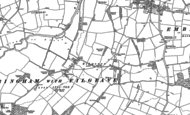 Old Map of Filgrave, 1899