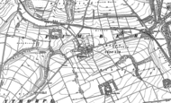 Old Map of Fimber, 1891