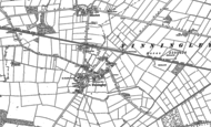 Old Map of Finningley, 1891 - 1901