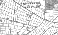 Old Map of Fir Tree Fm, 1885 - 1905