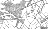 Old Map of Firsdown, 1908 - 1923