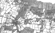 Old Map of Fishbourne, 1896 - 1907