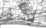 Old Map of Fishersgate, 1896 - 1909