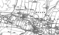 Old Map of Fisherton de la Mere, 1899