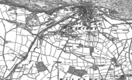 Old Map of Five Bells, 1887 - 1902