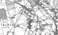 Old Map of Flackwell Heath, 1897 - 1910