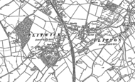Old Map of Flitwick, 1881