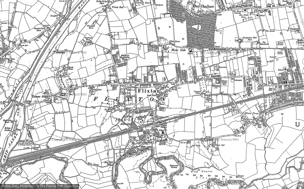Old Map of Historic Map covering Woods End in 1904