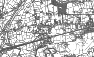 Old Map of Flixton, 1904 - 1908