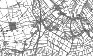 Old Map of Fordgate, 1887