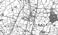 Old Map of Fordhouses, 1883