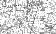 Old Map of Forncett St Peter, 1882 - 1883
