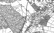 Old Map of Forton, 1894