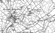 Old Map of Foscote, 1899 - 1938