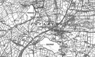 Old Map of Foulridge, 1893 - 1910