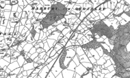 Old Map of Fox Hall, 1897 - 1909