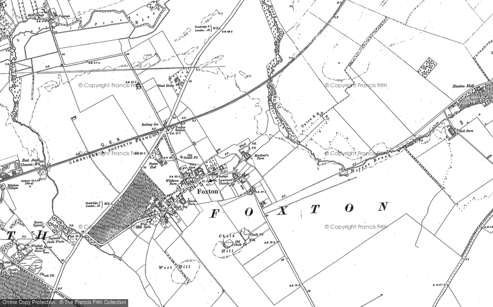 Foxton, 1885 - 1886
