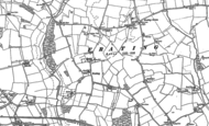 Old Map of Frating, 1896