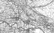 Old Map of Fremington, 1891