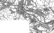 Old Map of Freshford, 1902