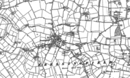 Old Map of Fressingfield, 1882 - 1903