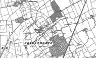 Old Map of Friesthorpe, 1886