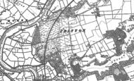 Old Map of Fritton, 1884 - 1904