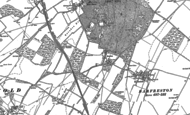 Old Map of Frogham, 1896