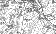Old Map of Frome Vauchurch, 1886 - 1887
