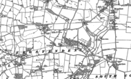 Old Map of Frostenden, 1883 - 1903