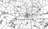 Old Map of Fulletby, 1887 - 1888