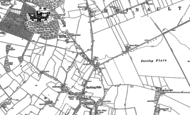 Old Map of Fullwell Cross, 1895